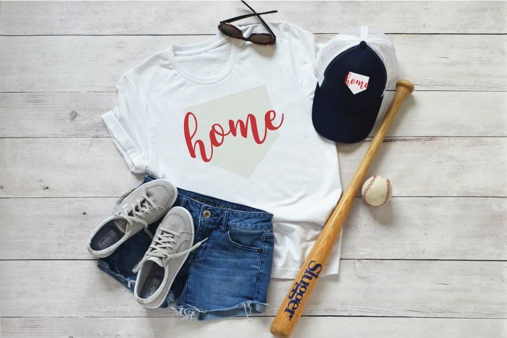 Baseball Shirt DIY