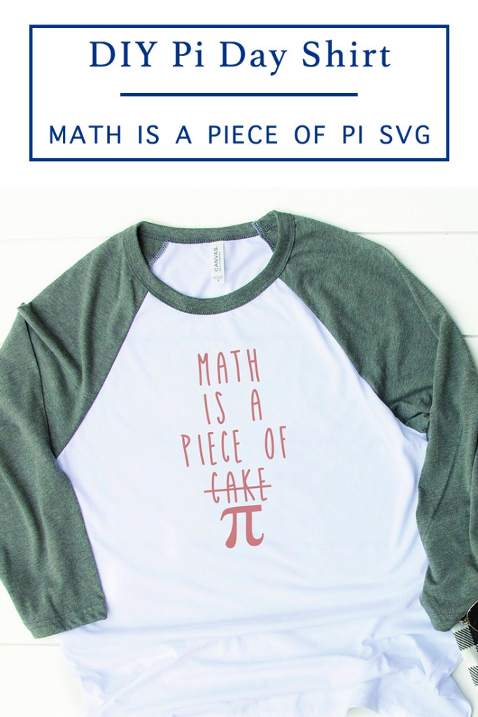 DIY Pi Day Shirt Idea