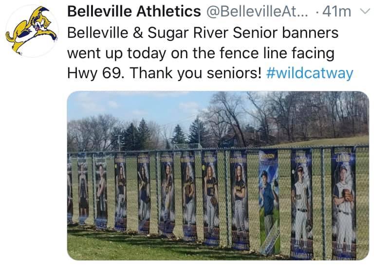 Senior Athlete Banners