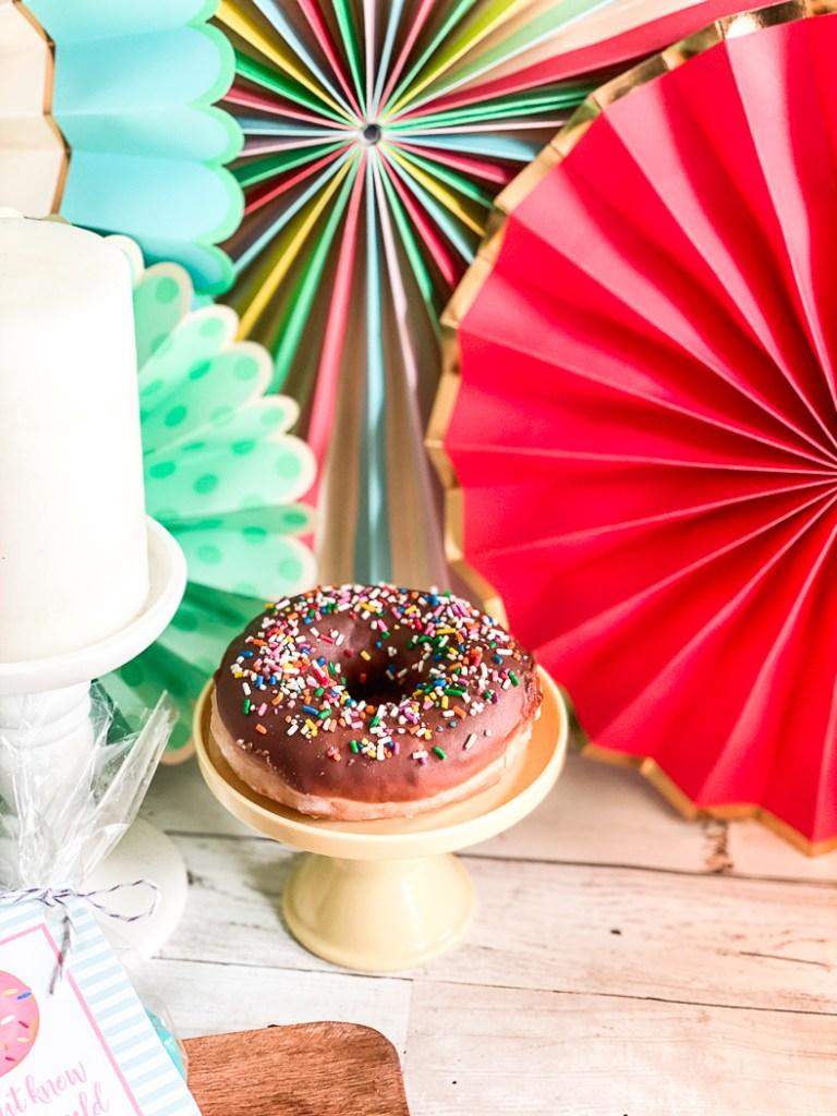 Donut Cake Plate