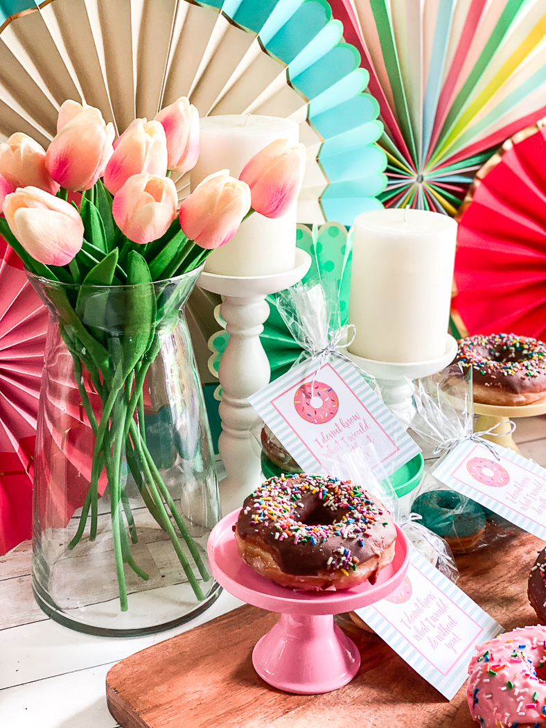 Donuts Tulips