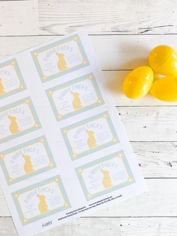 Easter Printable Tags