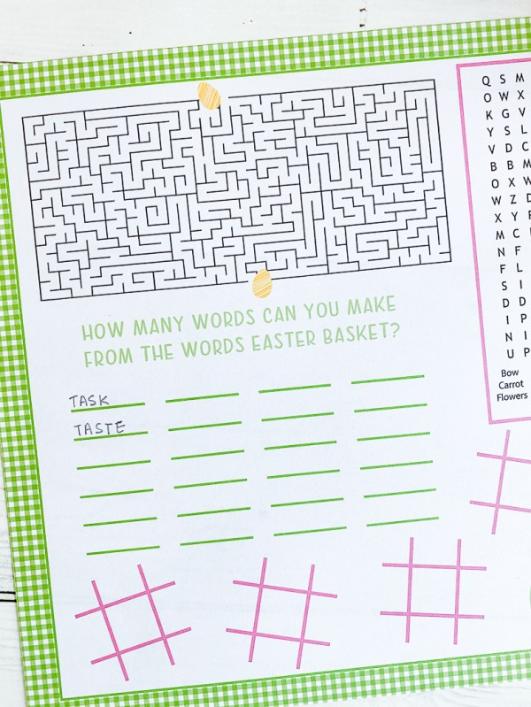 Easter Word Puzzle