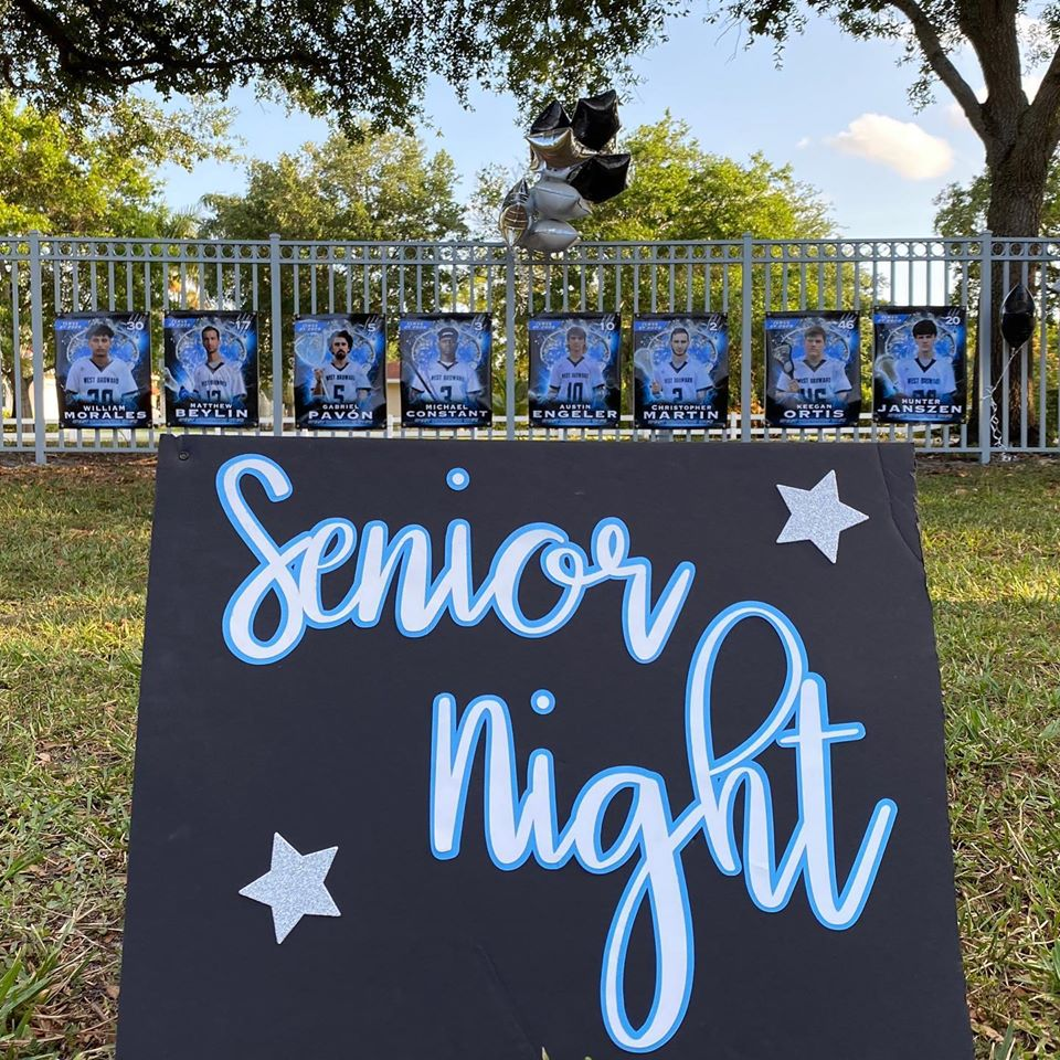 Senior Night Sign