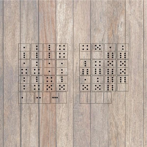 Dominoes SVG File