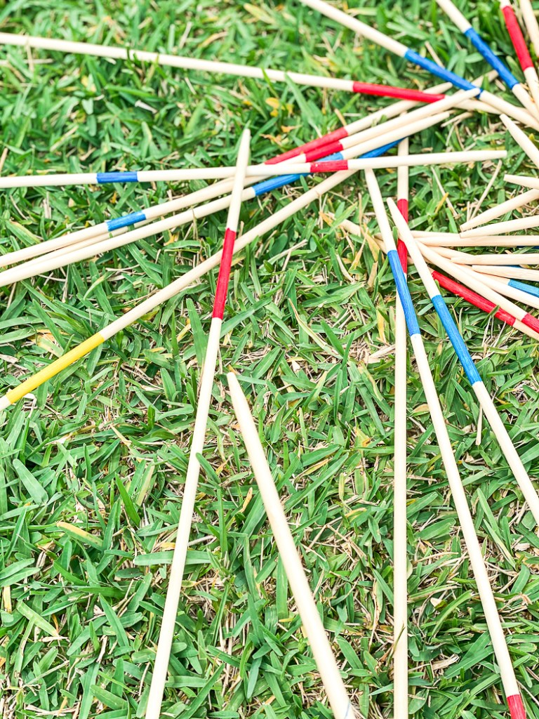 Backyard Pick Up Sticks