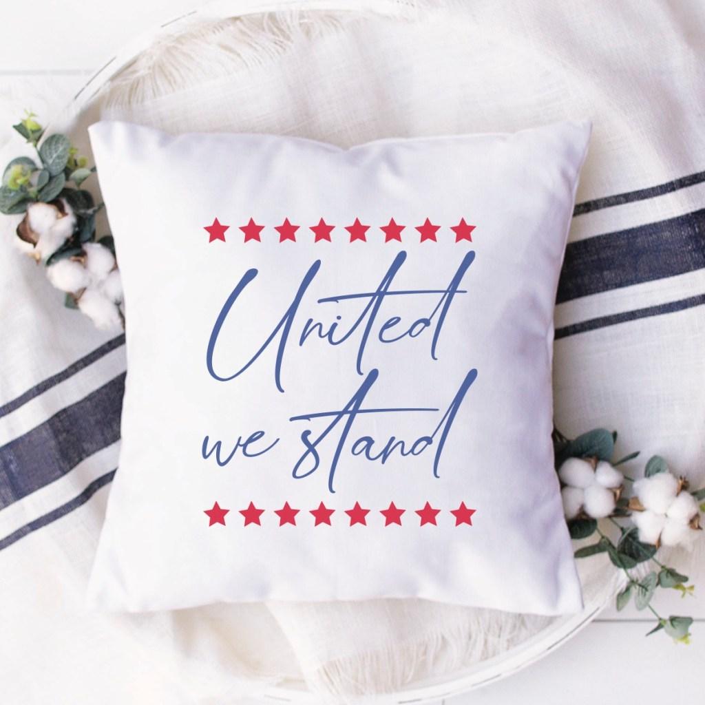 White Decorative Pillow