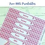 BBQ Sauce Labels