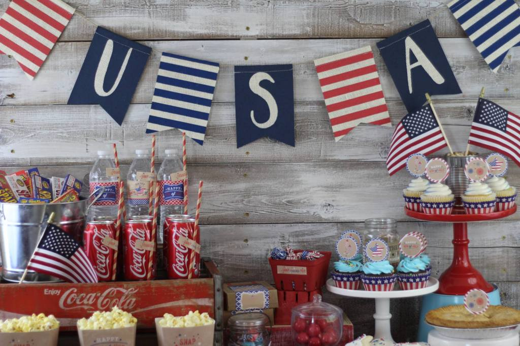 Rustic 4th of July Party