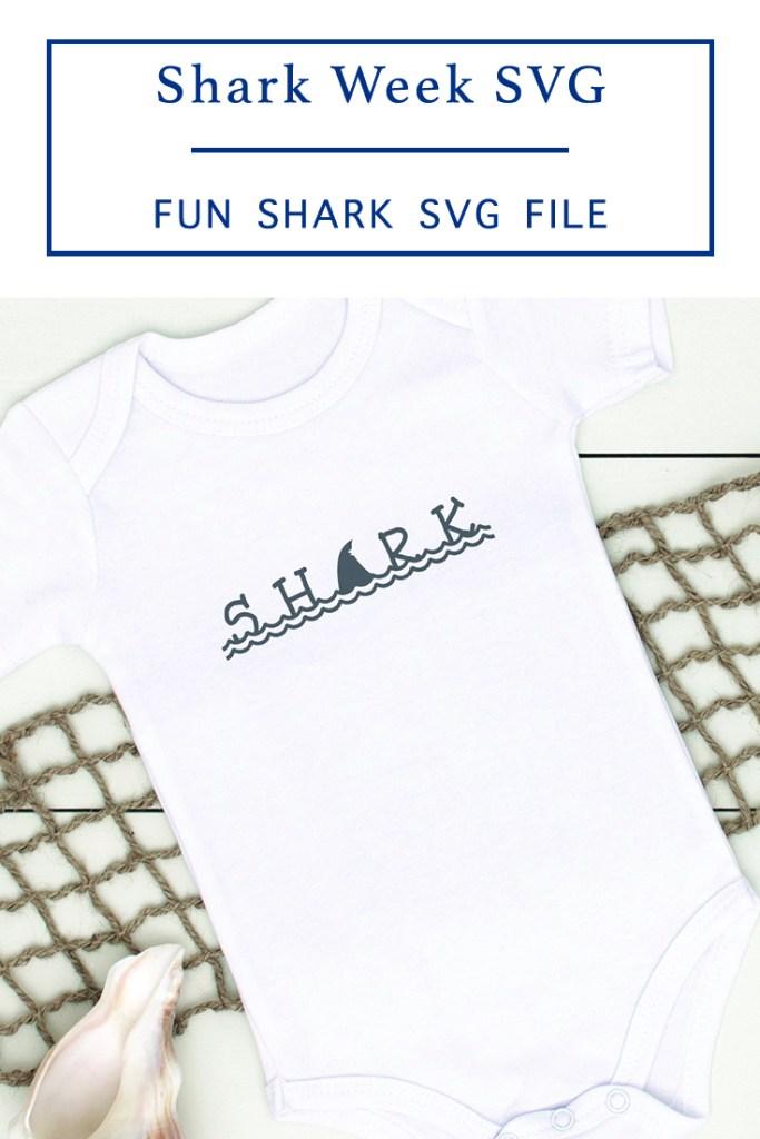 Shark Week SVG File