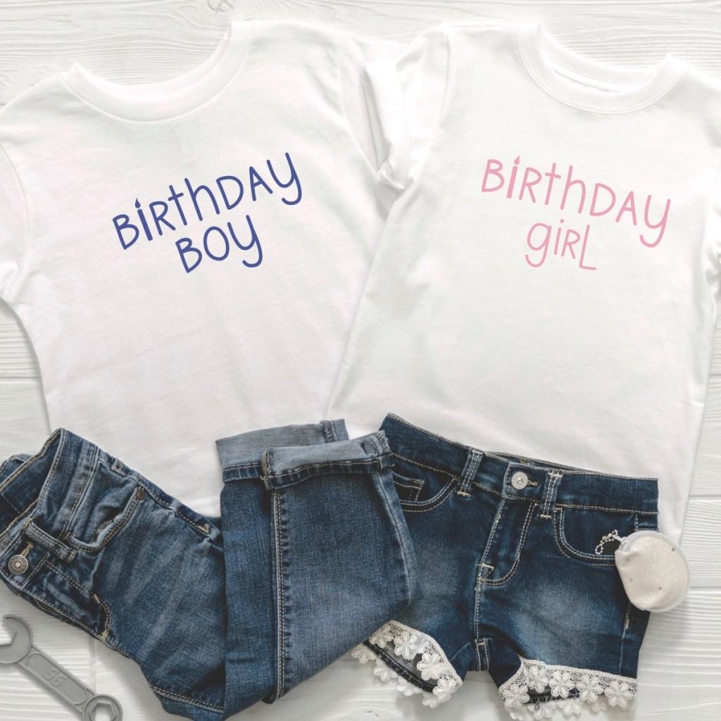Birthday Boy Birthday Girl Shirt