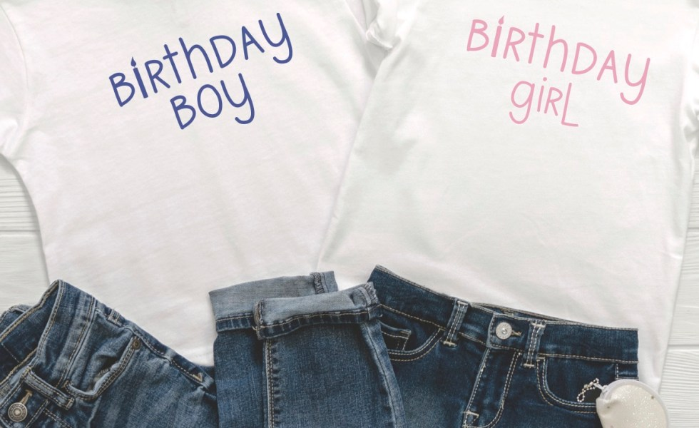Birthday Boy Birthday Girl Shirt