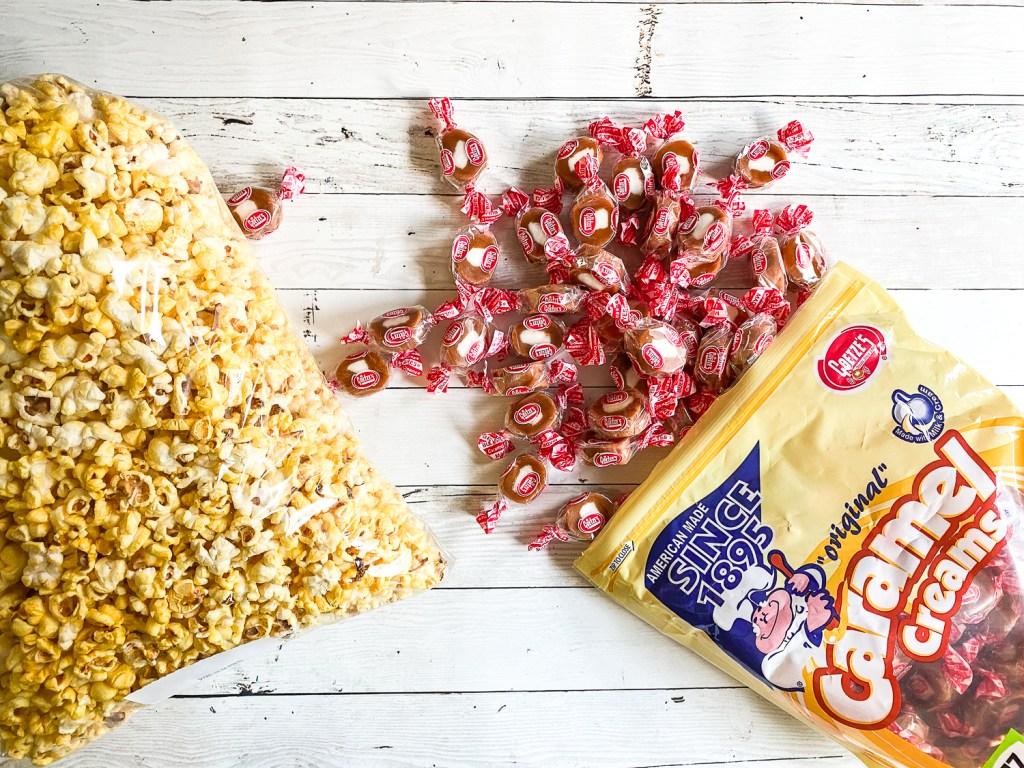 Popcorn Caramel Creams