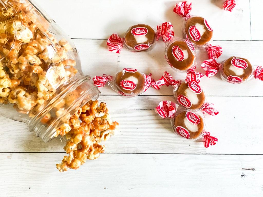 Caramel Creams Candy Popcorn