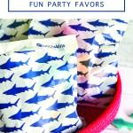 Shark Birthday Favors