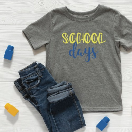 Back to School Shirt