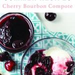 Cherry Compote and Ice Cream