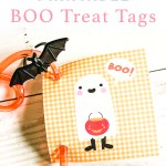 Ghost Halloween Tags