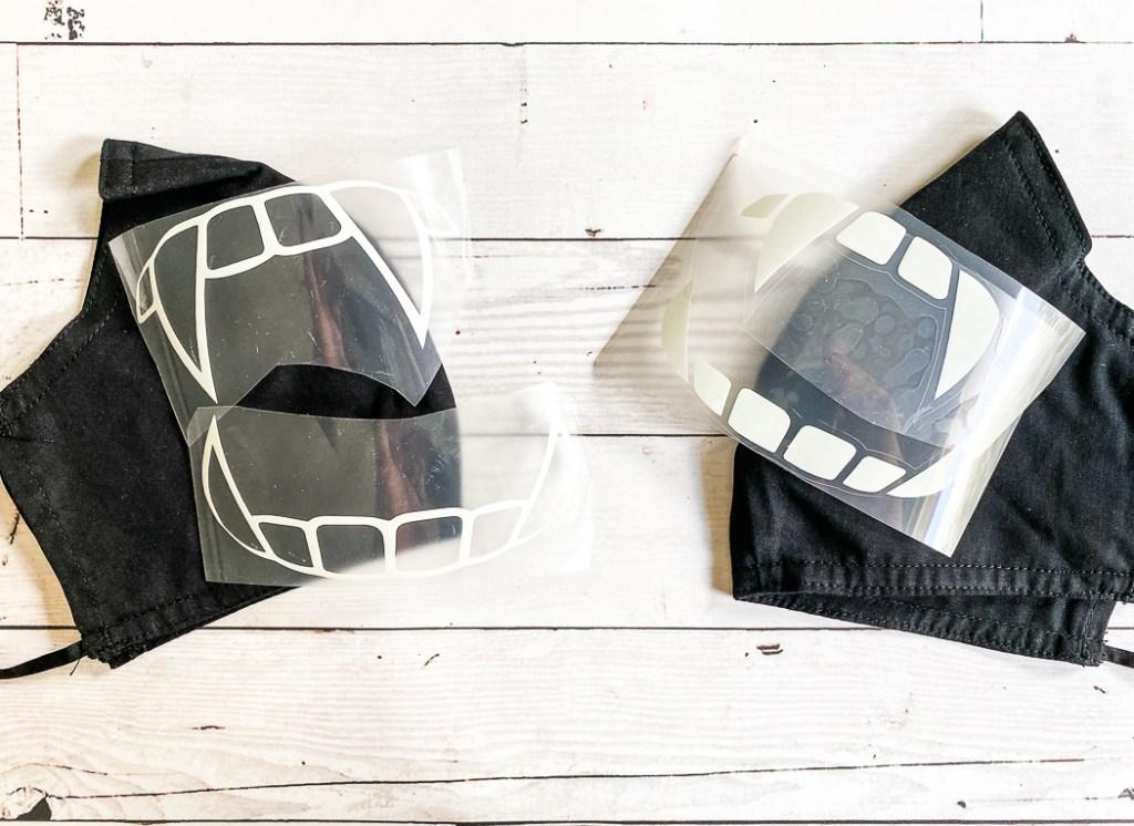 Black Masks Fang HTV