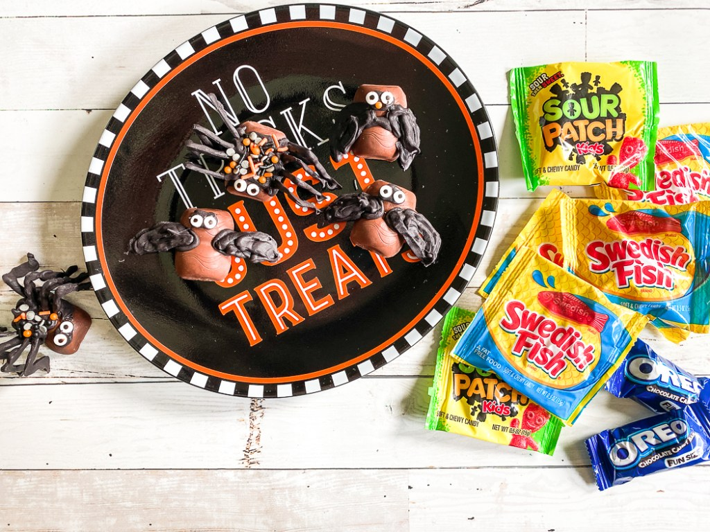 Oreo Cookie Candy Bar Halloween Creatures