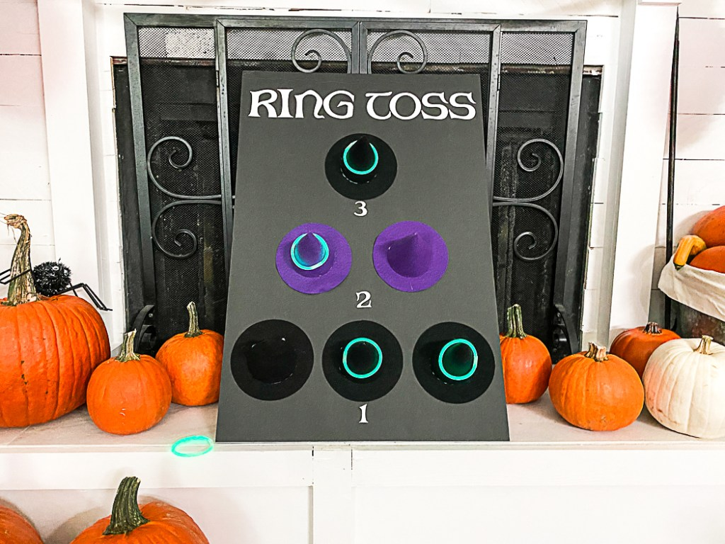 Halloween Ring Toss Game