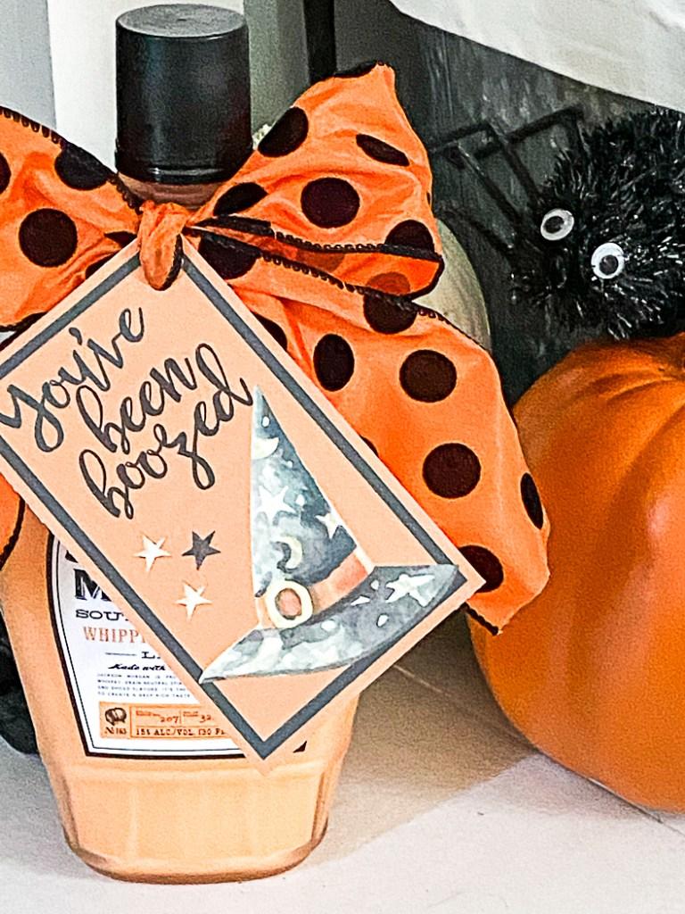 Jackson Morgan Southern Cream Pumpkin Halloween Tags