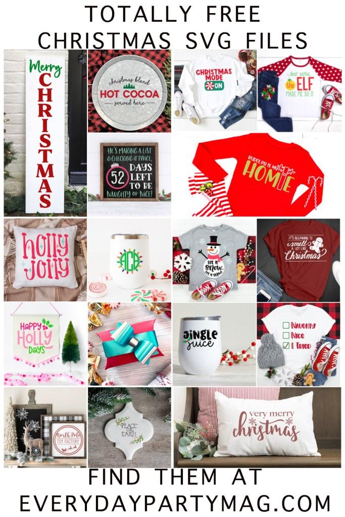 Christmas SVG Collage