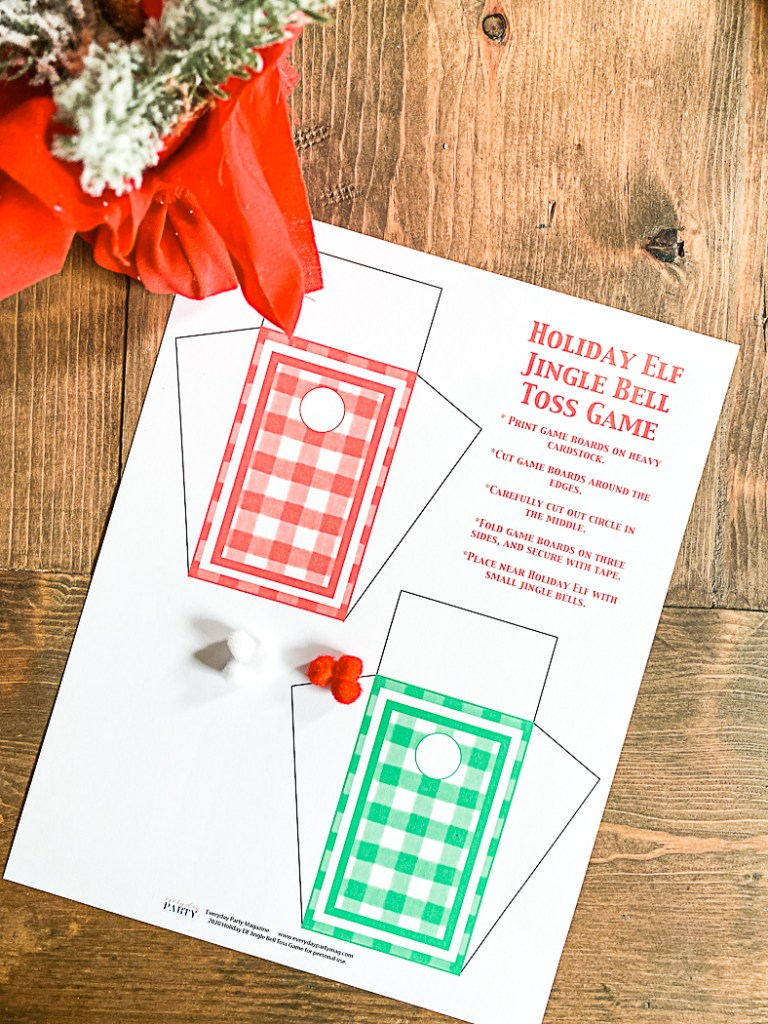 Printable Elf on the Shelf Activities