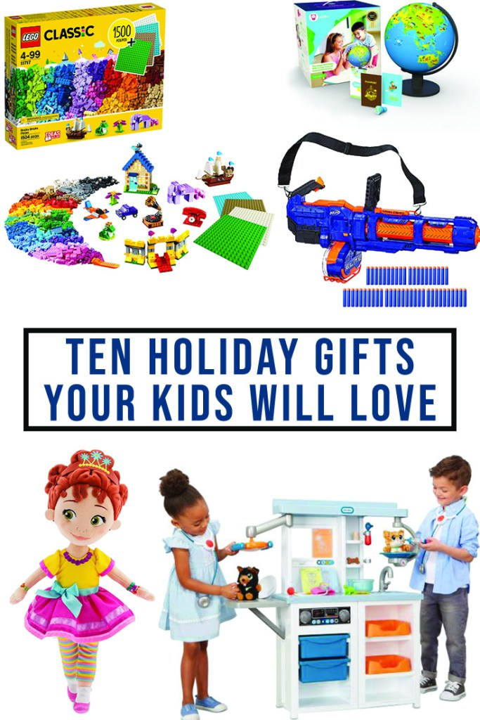 10 Holiday Gifts for Kids