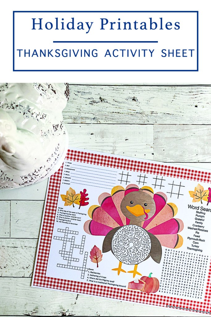 Thanksgiving Day Activity