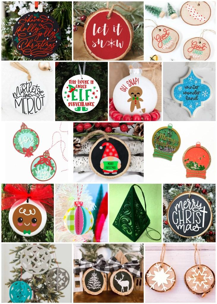 DIY Ornament Collage