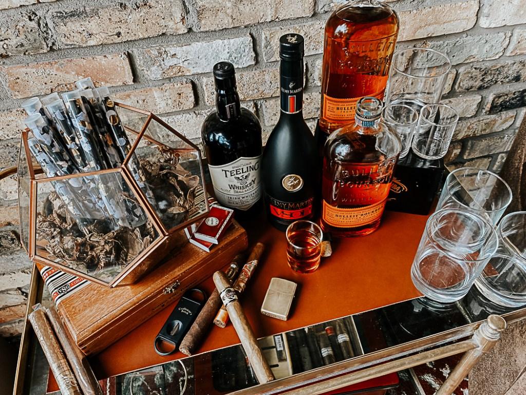 Cigars and Liquor