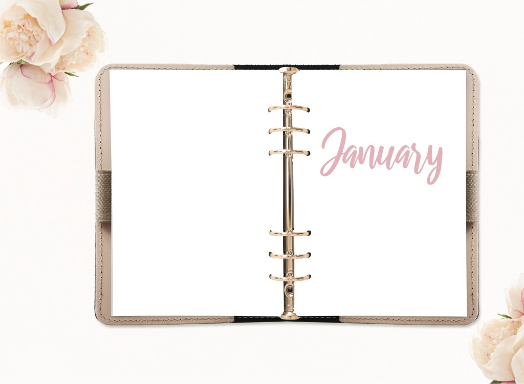 January Monthly Journal