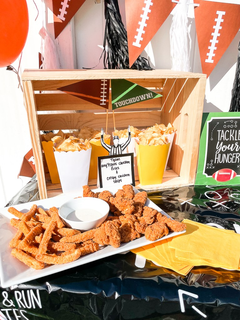 Football Party Snack Food Ideas
