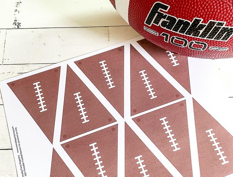 Football Banner Football