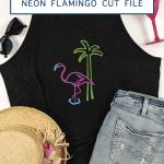 Black Shirt Beach Hat