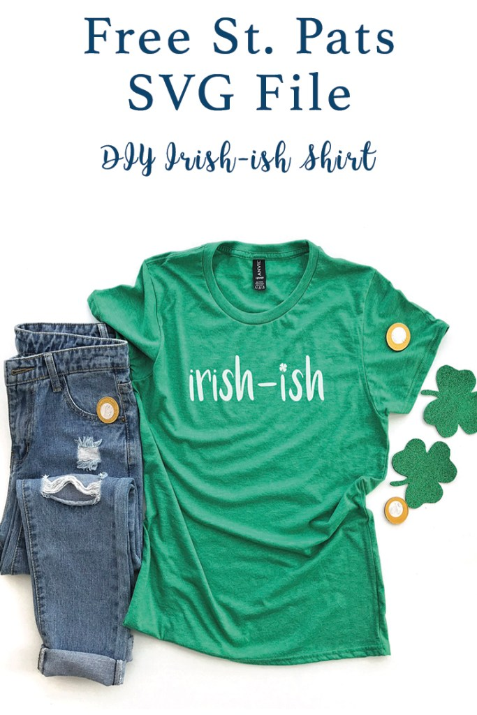 DIY St. Patrick's Day Shirt