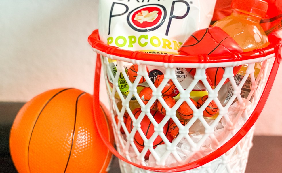 Basket Ball Party Basket