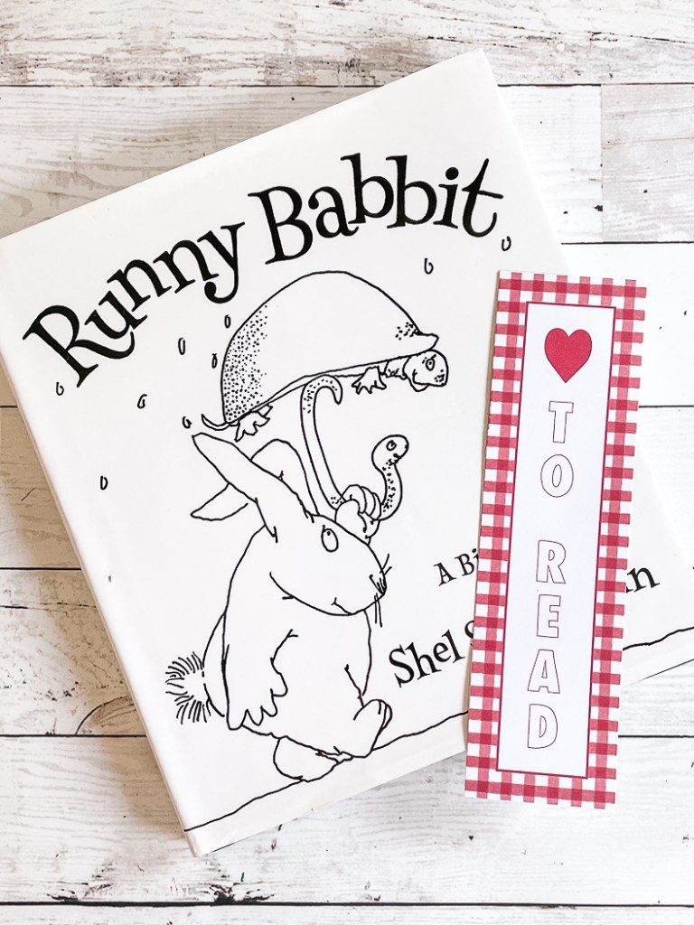 Runny Babbit Book Bookmark