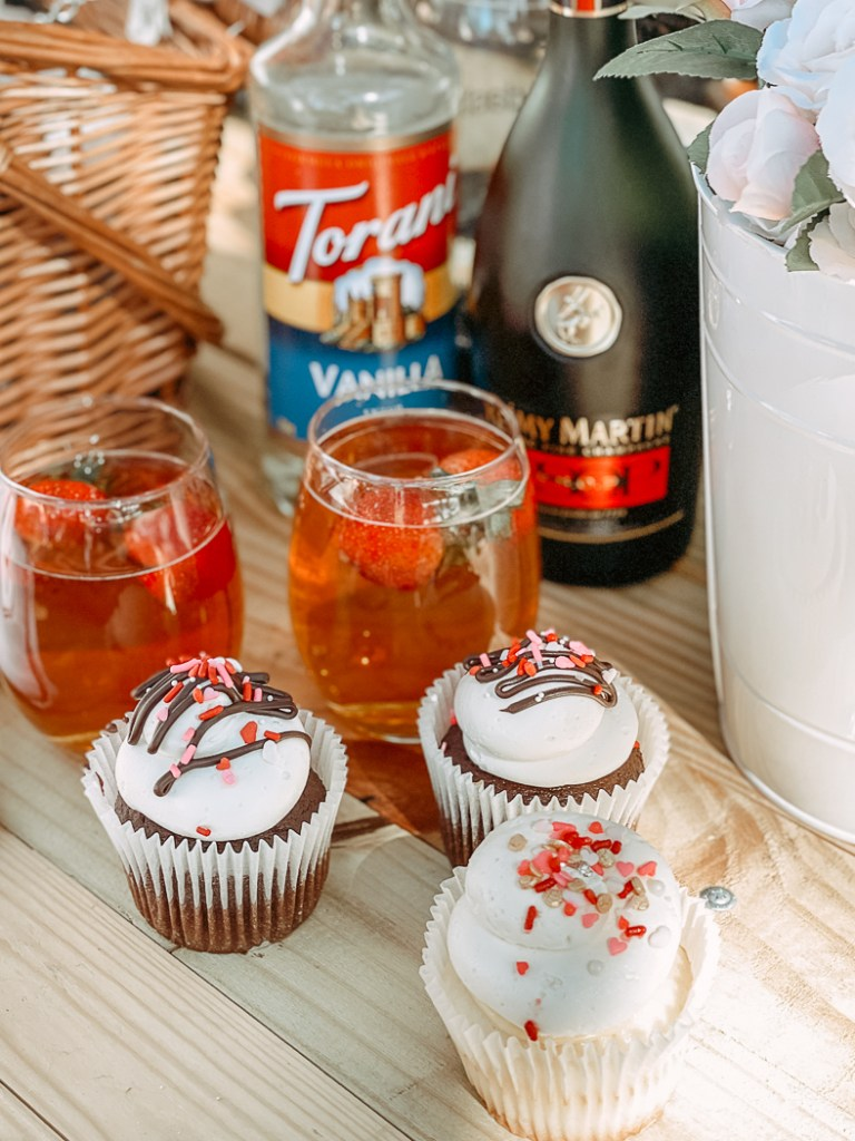 Cupcakes Cocktails