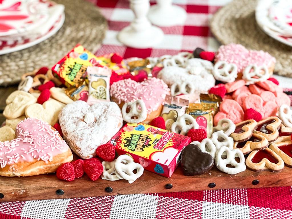 Dessert Tray for Valentine's Day