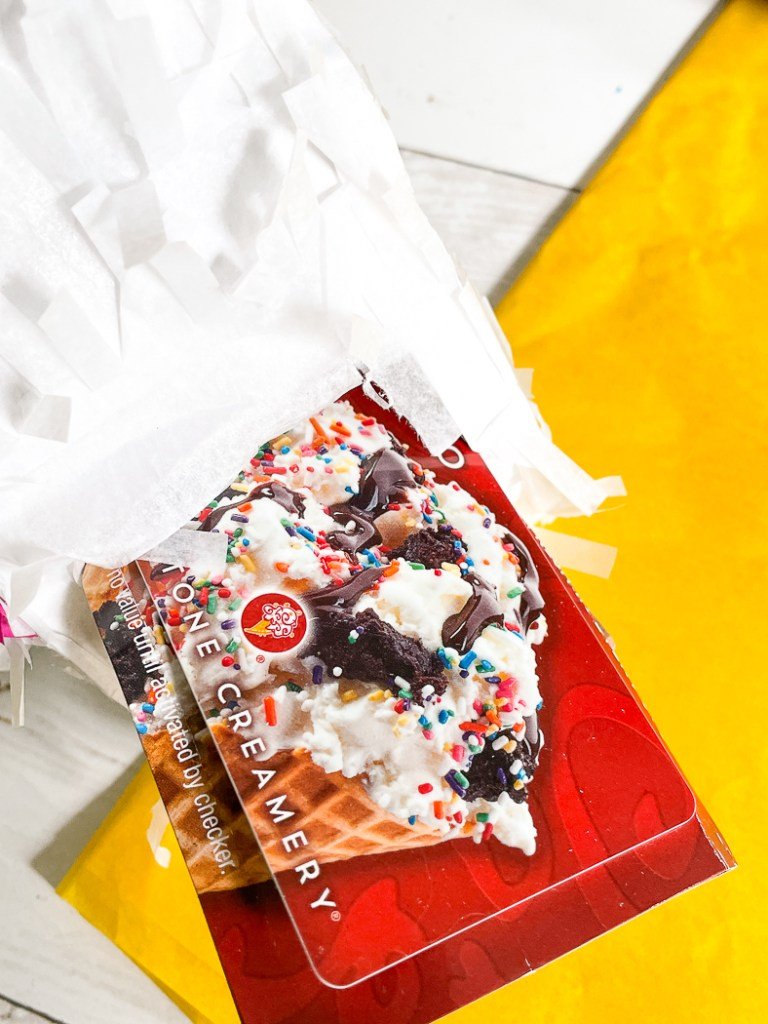 Ice Cream Gift Card