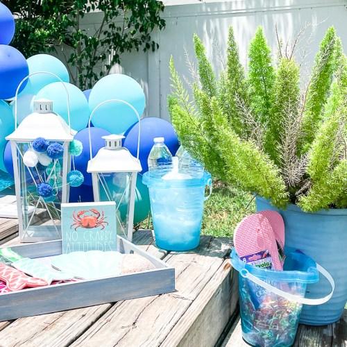 Mermaid Pool Party Decor