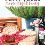Movie Night food Table