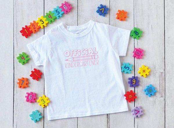 Official Kindergartener Shirt