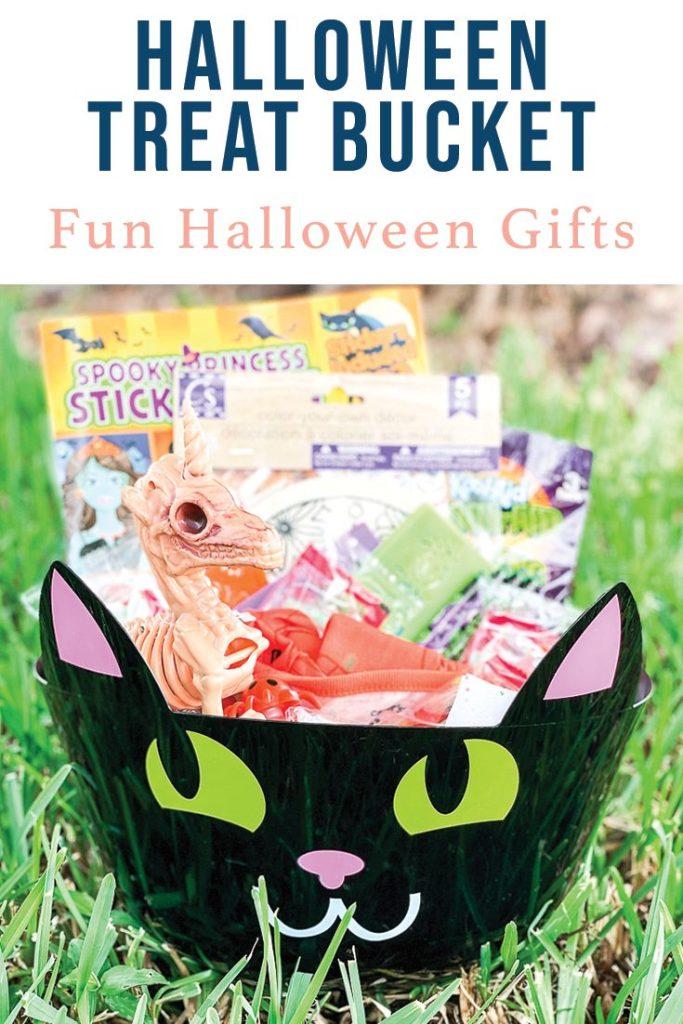 Halloween Gift Bucket