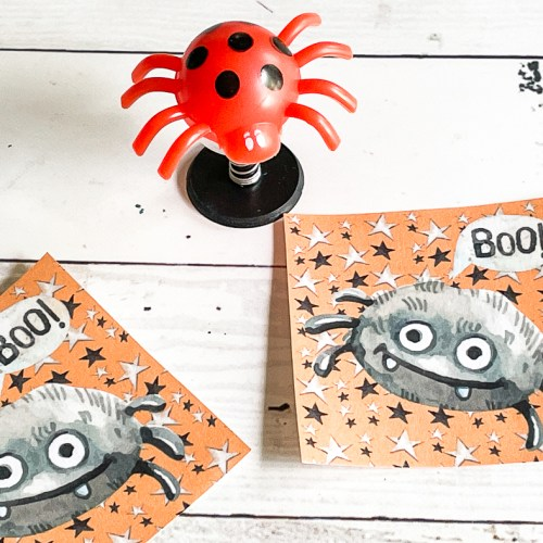 Spider Printable Tags