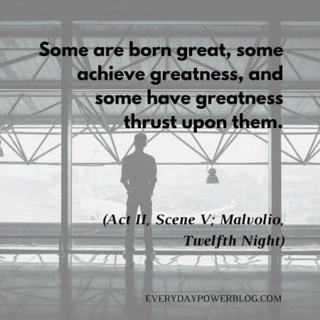 shakespeare quotes greatness