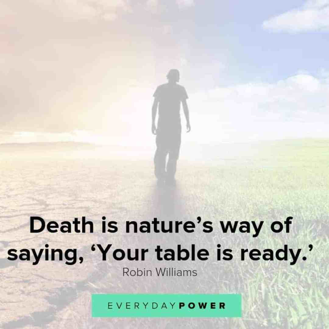 comforting quotes about death