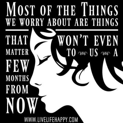 Inspirational Picture Quotes most things we worry